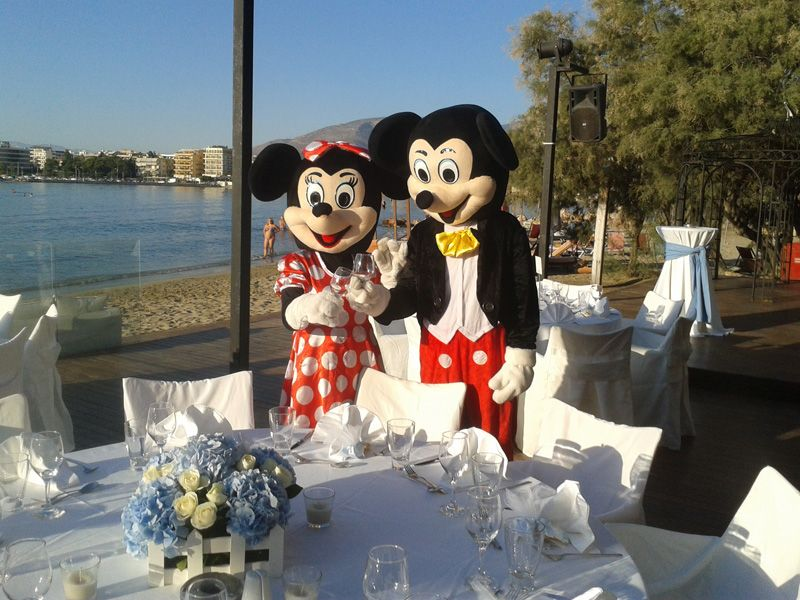 Μασκότ Mickey And Minnie